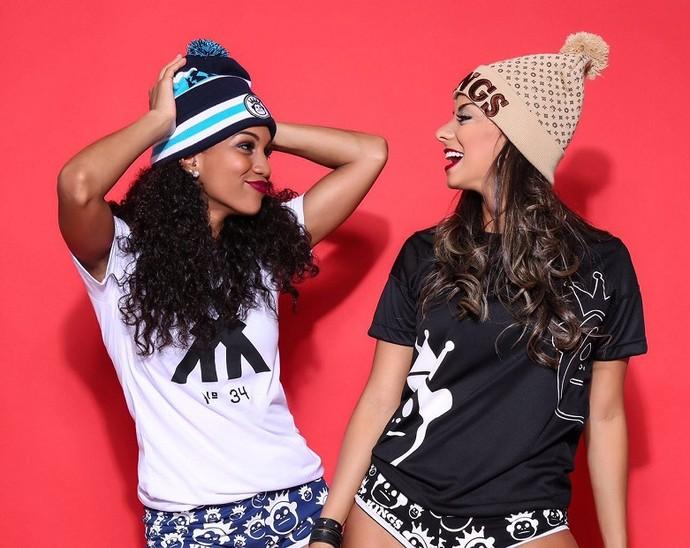 Camila Lobo e Tainá Grando  (Foto: Divulgação)