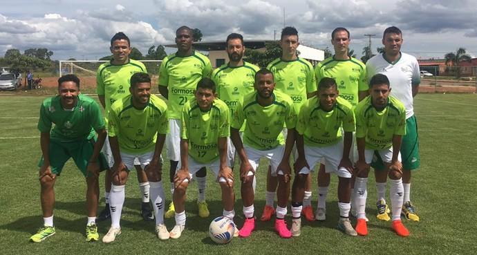 Formosa venceu a equipe do Cabeceiras-GO em amisotso no último sábado (Foto: Divulgação / Formosa)