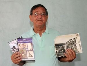 Edson Santa Rosa guarda as memórias do craque Dida (Foto: Ascom/Flamengo)