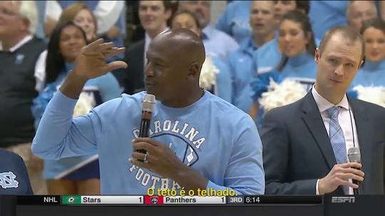 """""""O teto é o telhado"""": frase de Michael Jordan vira meme nas redes sociais"""