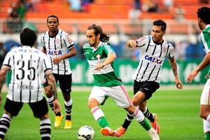 Valdivia, Palmeiras x Corinthians (Foto: Marcos Ribolli)