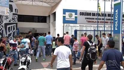 Juíza suspende parte das vagas dos concursos da PM e dos bombeiros em Goiás