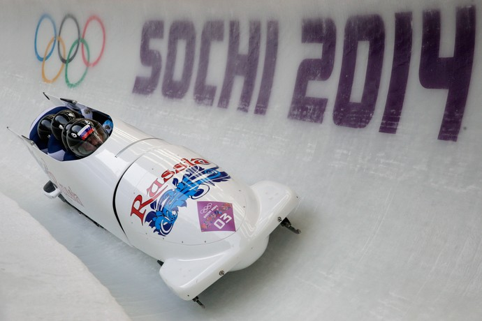 bobsled Rússia Sochi 2014 (Foto: Getty Images)