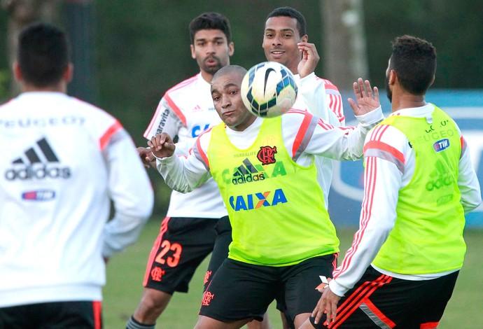 Anderson Pico, treino Flamengo (Foto: Marcio Alves / Agência O Globo)