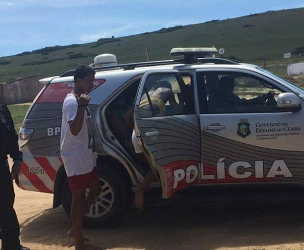 MC Livinho foi preso por suposta agressão (Foto: Reprodução)