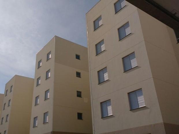 Apartamentos foram entregues em Mogi das Cruzes (Foto: Maiara Barbosa/G1)