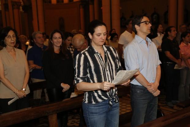 Missa Betty Lago (Foto: Felipe Assumpção/ Ag. News)