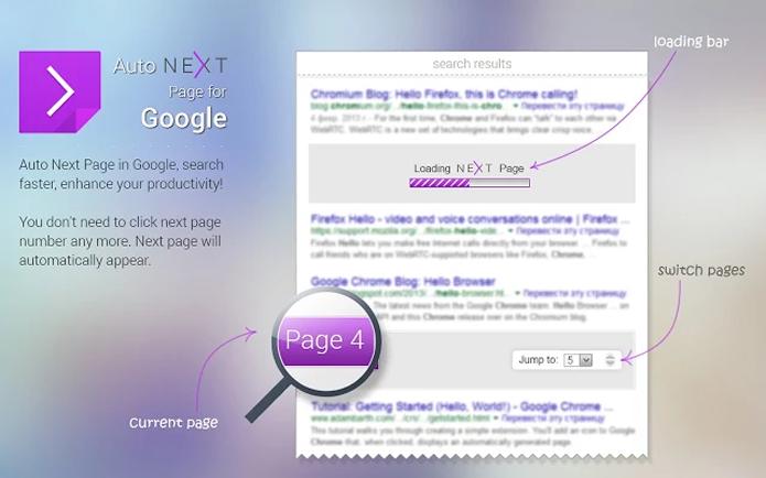 better Browser tem um recurso que carrega a próxima página antes do usuário abri-la, deixando a navegação em pesquisas mais rápida (Foto: Reprodução/Filipe Garrett)