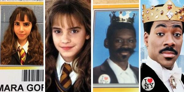 Fantasias de Hermione Granger e Príncipe Akeem estão em alta na temporada de identidades estudantis  (Foto: Reprodução/Divulgação)