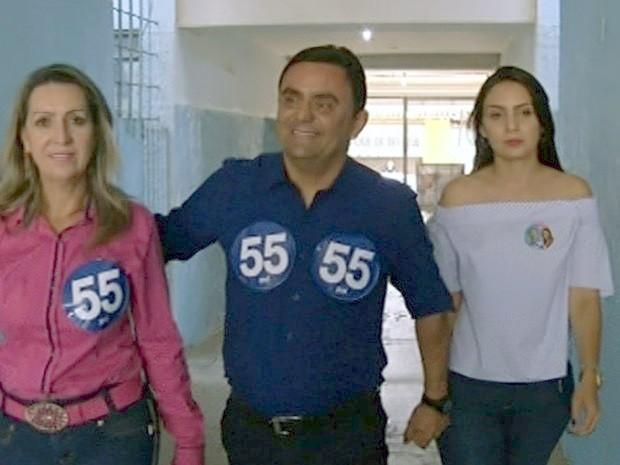 TRE-GO aceita recurso e reconhece reeleição de Cristóvão Tormin em Luziânia, Goiás (Foto: Reprodução/TV Anhanguera)