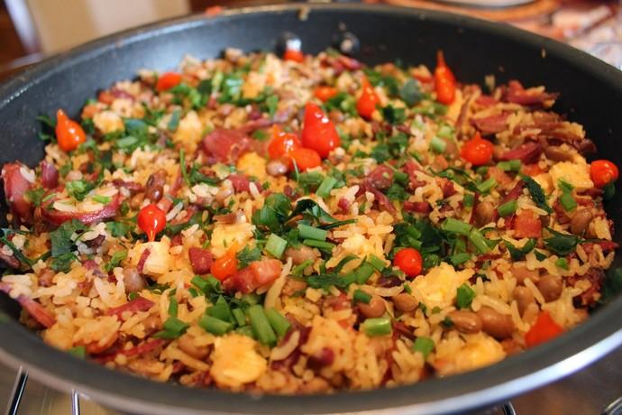 Aprenda a fazer o baião de dois, um prato tipicamente nordestino (Foto: Reprodução)