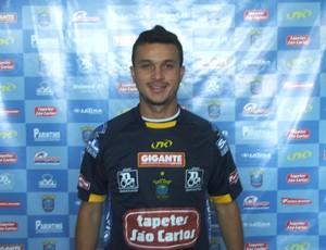 Meia Rick do São Carlos (Foto: Divulgação/ Assessoria São Carlos)
