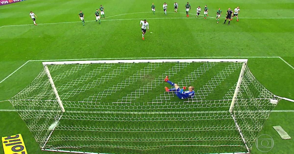 Gols do Fantástico: Corinthians vence Palmeiras por 3 a 2