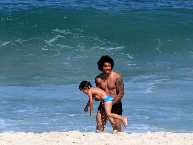 Marcelo,  jogador do Real Madrid (Foto: Wallace Barbosa / AgNews)