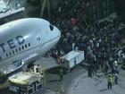 Alarme falso de tiros fecha aeroporto  de Los Angeles (GloboNews)