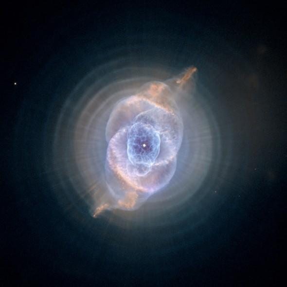 25 anos do Telescópio Espacial Hubble: A Nebulosa Olho de Gato, na Constelação de Dragão