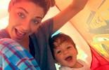 Luma Costa dá receita para viajar com bebê: 'Tem que ter tudo'