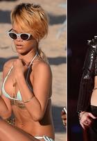 Rihanna, Beyoncé e outras famosas apostam no body chain