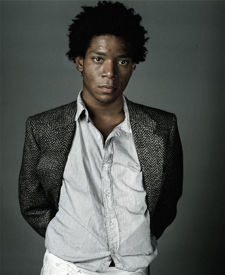 Jean-Michel Basquiat (Foto: Richard Corman/Reprodução Instagram)