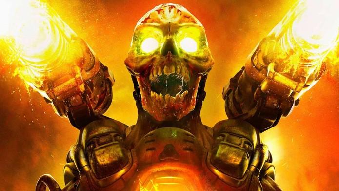 Doom é um dos games em desconto na PSN (Foto: Divulgação/Bethesda)