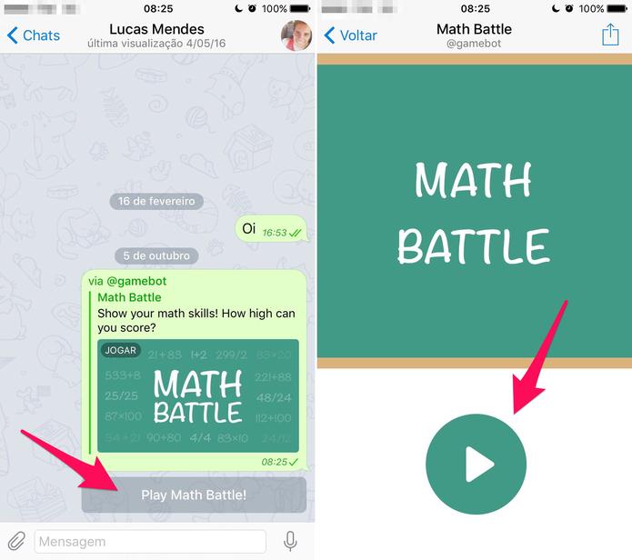 Jogue o game pelo Telegram (Foto: Reprodução/Lucas Mendes)