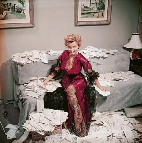 Marilyn Monroe, Beverly Hills, 1950 (Foto: Slim Aarons/Divulgação)
