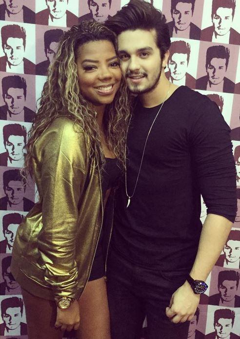 Ludmilla e Luan Santana (Foto: Instagram / Reprodução)