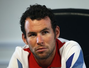 Mark Cavendish na coletiva de imprensa (Foto: Getty Images)