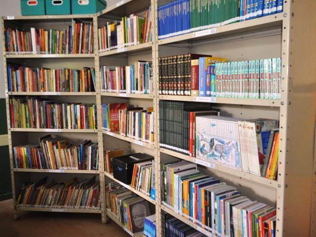 Escola em Guarujá recebe biblioteca com acervo de 1.600 obras (Foto: Divulgação/Prefeitura de Guarujá)