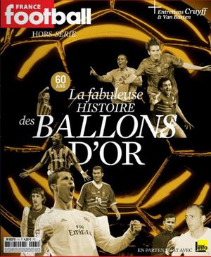 Capa da revista France Football de 60 anos (Foto: Reprodução)