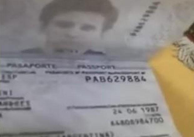 Policial foi condenado por vídeo com passaporte de Messi (Foto: Reprodução)