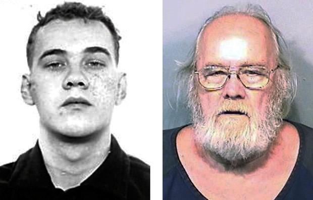 Frank Freshwaters havia fugido da cadeia em 1959 (Foto: Ohio State Reformatory/Brevard County Sheriff's Office/AP)