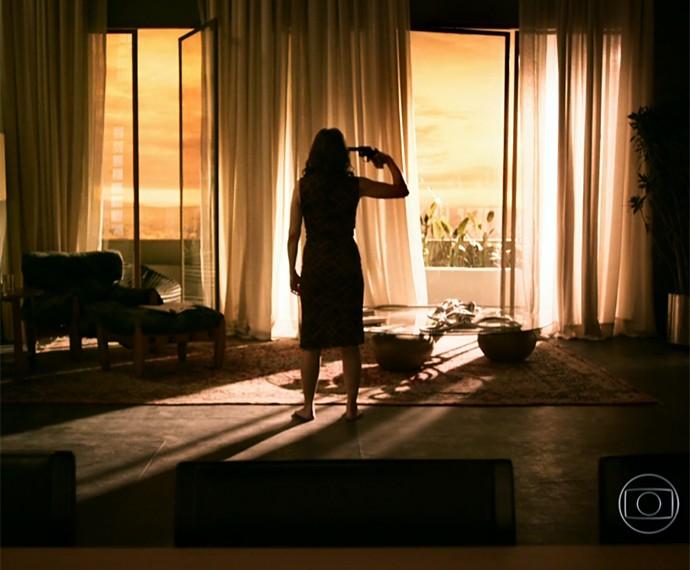 Drica conta como se sentiu ao gravar morte trágica de Carolina (Foto: TV Globo)