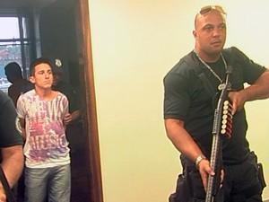 Audiência foi realizada nesta segunda-feira em Santana do Livramento (Foto: Reprodução/RBS TV)