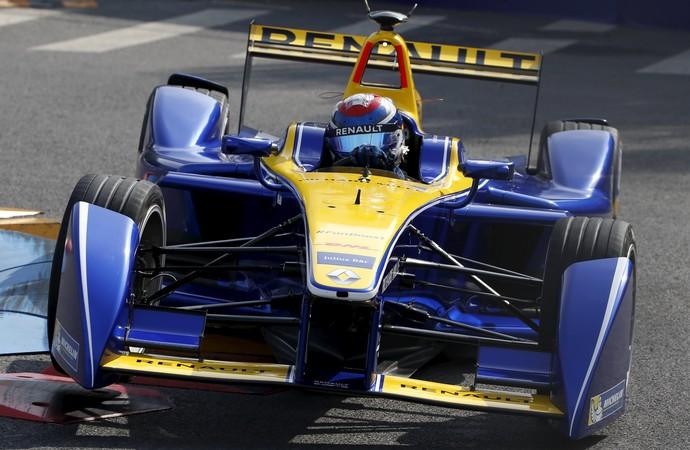 Sebastian Buemi Fórmula E (Foto: Reuters)