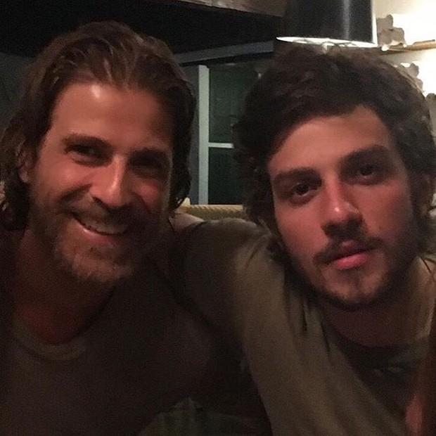 Reynaldo Gianecchini e Chay Suede  (Foto: Instagram / Reprodução)