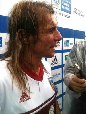 Caniggia soccerex (Foto: Felippe Costa / Globoesporte.com)