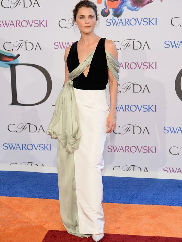 Keri Russell no CFDA Awards (Foto: AFP / Agência)