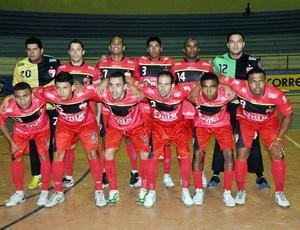 Cajuína - Taça Brasil de Futsal (Foto: Cláudio Goes/CBFS)