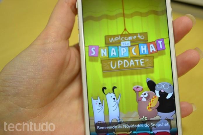 Se o Snap fechar sozinho, verifique o celular (Foto: Melissa Cruz/TechTudo)