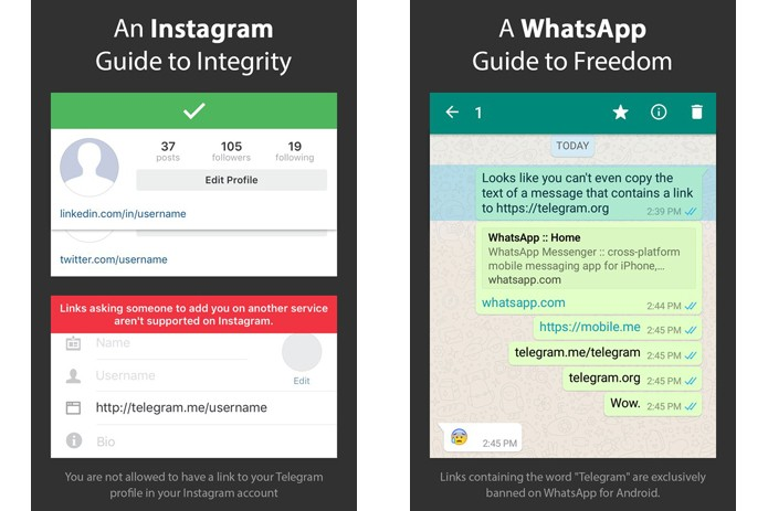 link para whatsapp no instagram
