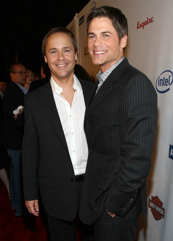 Os irmãos e atores, Chad e Rob Lowe (Foto: Getty Images)
