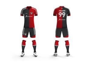 Novo uniforme do Ricanato  (Foto: Assessoria Capital FC / Divulgação)