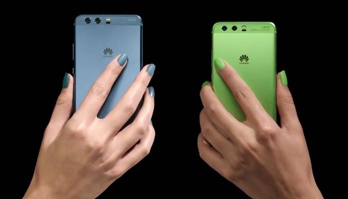 P10 e P10+ prometem concorrer com iPhone 7 e Galaxy S7 (Foto: Divulgação/Huawei)