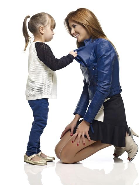 Ticiane Pinheiro e a filha Rafaella Justus posam para grife de Fabiana Justus (Foto: Luis Crispino)