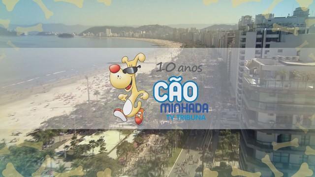 10ª Cãominhada TV Tribuna (Foto: Arte / TV Tribuna)