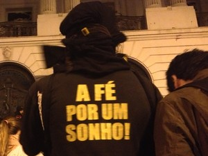 Black bloc (Foto: Priscilla Souza/G1)
