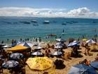 Inema indica 10 praias impróprias para banho (Jairo Gonçalves/G1 Bahia)