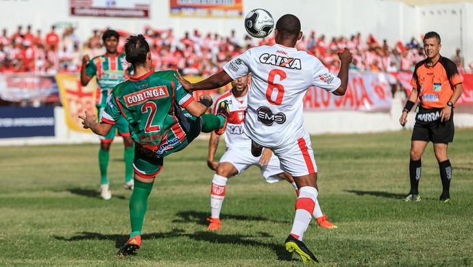 CSE x CRB, no Juca Sampaio (Foto: Ailton Cruz/Gazeta de Alagoas)