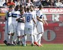 Inter de Milão vence a terceira seguida e coloca pressão sobre a Fiorentina